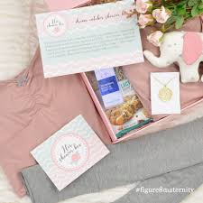her shower box from figure 8 maternity gift boxes for new moms