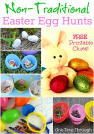 kids easter eggs 18 non traditional easter egg hunts one time through