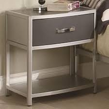 furniture modern small nightstands with drawers modern new 2017