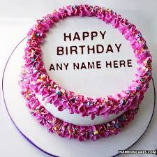top 14 write name on birthday cake images and best wishes