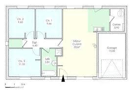 plan maison plain pied 3 chambres 100m2 plan maison plain pied 3 chambres gratuit 90m2 0 mod le 90 m t4