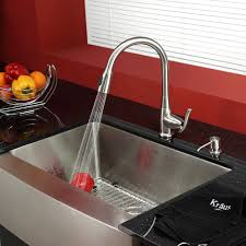 8 kitchen faucet stainless steel kitchen sink combination kraususa com