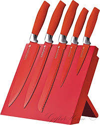Coloured Kitchen Knives Set 19 Best Red Kitchen Images On Pinterest Red Kitchen Stainless
