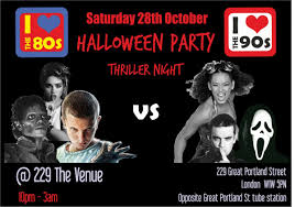 dublin city halloween events thriller night halloween party 229 the venue london designmynight