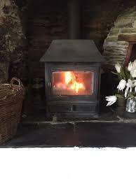 wood stove flue interiors design
