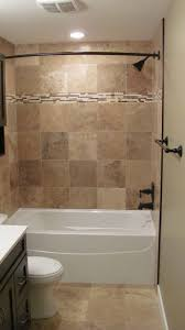 Flooring Ideas For Bathrooms by Bathroom Good Looking Brown Tiled Bath Surround For Small