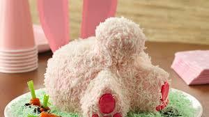 easter bunny cake ideas bunny cake recipe bettycrocker