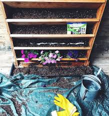 How To Build A Vertical Garden - small space living tips for building a vertical garden