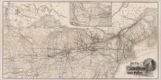 Canada Rail Map by Gc6fee2 Grand Trunk Railway Ailsa Craig Traditional Cache In