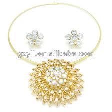 white stone gold necklace images White stone necklace set designer gold necklace set buy white jpg