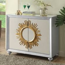 Acme Hollywood Chantelle Bedroom Set Accent Cabinets Local Furniture Outlet Buy Accent Cabinets In
