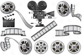 movie camera and film clipart free images clipartix