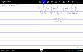 guidelines for writing on plain paper write android apps on google play write screenshot