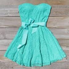 dress tiffany blue dress cute dress lace bridesmaid dress blue