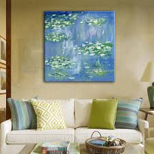 Home Decoration Paintings Online Get Cheap Pond Oil Paintings Aliexpress Com Alibaba Group