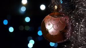 decorations defocused lights on background