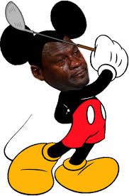 Mickey Mouse Meme - mickey mouse crying michael jordan know your meme