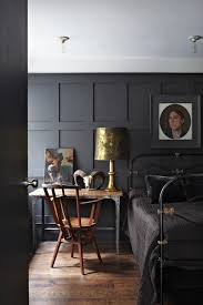 black bedrooms dark rooms theme u0026 decor ideas houseandgarden