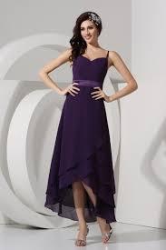robe violette mariage robe violette simple décolleté en cœur avec bretelle persun fr