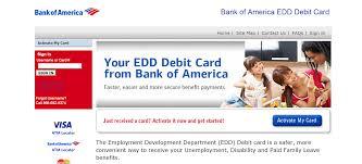 bank of america edd debit card login internet banking guide