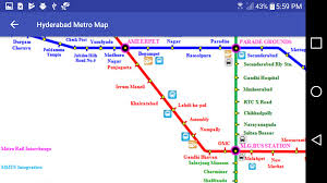 Metro Rail Map Los Angeles by Hyderabad Metro Rail Map Android Apps On Google Play