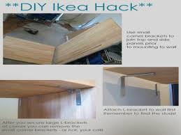 Kitchen Island Brackets Ikea Kitchen Island Hack Diy Ikea Hack Kitchen Island Tutorial