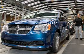 fiat chrysler minivan production stalled through october