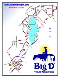 Boston Marathon Course Map by 2013 Big D Marathon Recap Healthy Living In The City