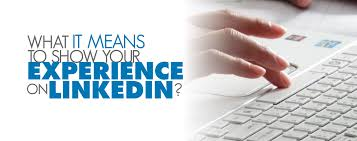 Extract Resume From Linkedin What It Means To Show Your Experience On Linkedin Engineer