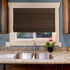 Roll Up Window Shades Home Depot by Room Darkening Bamboo Shades U0026 Natural Shades Shades The