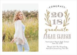 grad announcement cards 2018 graduation announcements invitations for high school and