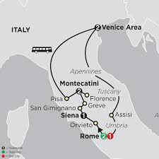 Pisa Italy Map by Italy Venice Florence Rome Pisa Tour Packages Holidays