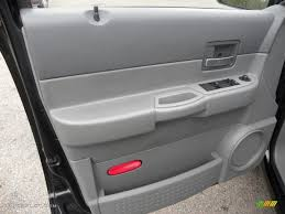 2004 dodge durango slt medium slate gray door panel photo