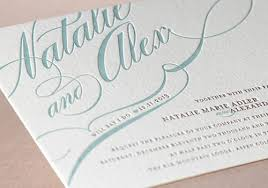 wedding invitations letter letterpress wedding invitation amulette jewelry