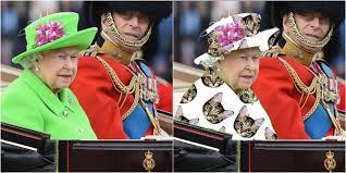 Queen Elizabeth Meme - queen elizabeth s neon green outfit for her 90th birthday sparks