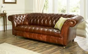 canapé en cuir marron canapé cuir marron vintage intérieur déco