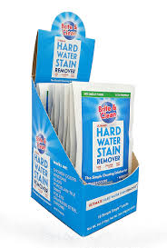 how to clean glass shower doors with hard water stains amazon com brite u0026 clean ultimate hard water stain and spot