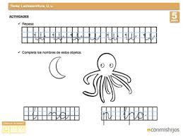 imagenes q inicien con la letra u ejercicio de escritura escribir la letra u