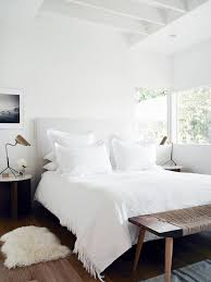 VINTAGE LUXE Minimal White Bright Bedroom Sleep Here Pinterest - Bright bedroom designs
