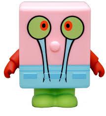 spongebob squarepants 3 inch gary vinyl toys