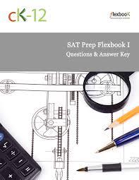 sat prep answer key ck 12 foundation