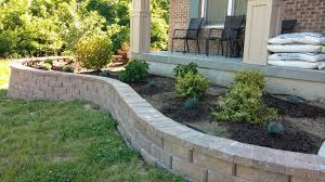 Front Yard Landscape Design by Retaining Wall Complete Front Yard Landscape Design Advice