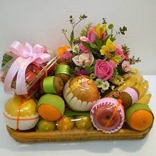flowers fruit fruit gifts gift basket get well gifts singapore gift basket