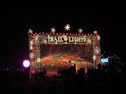 trail of lights is the best walk through christmas light show in texas
