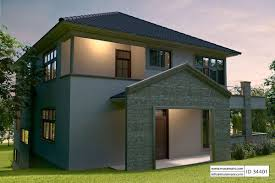Hillside House Plans With Garage Underneath by House Plan With Garage Underneath Id 34401 Maramani Com