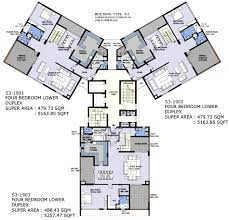 Duplex Layout Sushant Aquapolis Most Stylish High Rise Township Ghaziabad