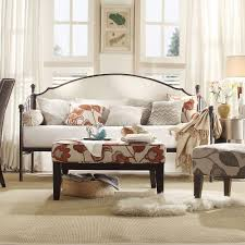 Linen Daybed Homesullivan Lincoln Park Oatmeal Trundle Day Bed 40e318b Abl3abd