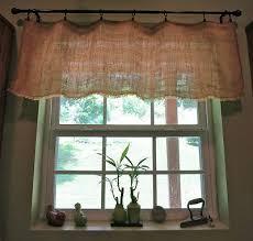 Cottage Kitchen Curtains by Best 25 Burlap Kitchen Curtains Ideas On Pinterest Farmhouse