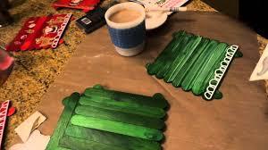 dollar tree craft popsicle stick trivets u0026 christmas gift tags
