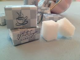 wrapped sugar cubes a cup of glee sucre enveloppe wrapped sugar cubes